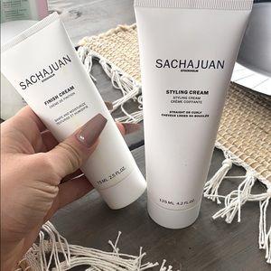 Sachajuan Stockholm styling cream and finish cream